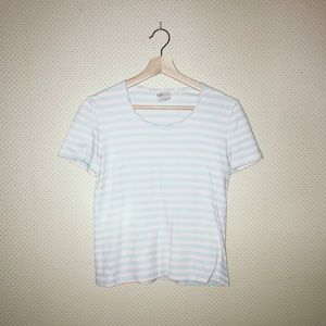 Cotton candy striped tee!!